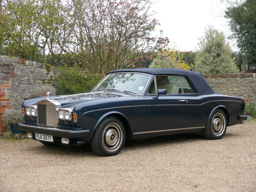 1982 Rolls-Royce Corniche Convertible  For Sale (picture 1 of 6)