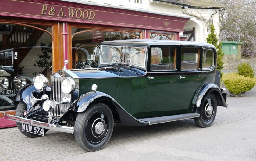 Rolls-Royce 20/25 1933 Limousine by Barker For Sale (picture 1 of 4)