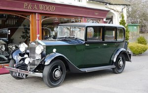 Rolls-Royce 20/25 1933 Limousine by Barker For Sale