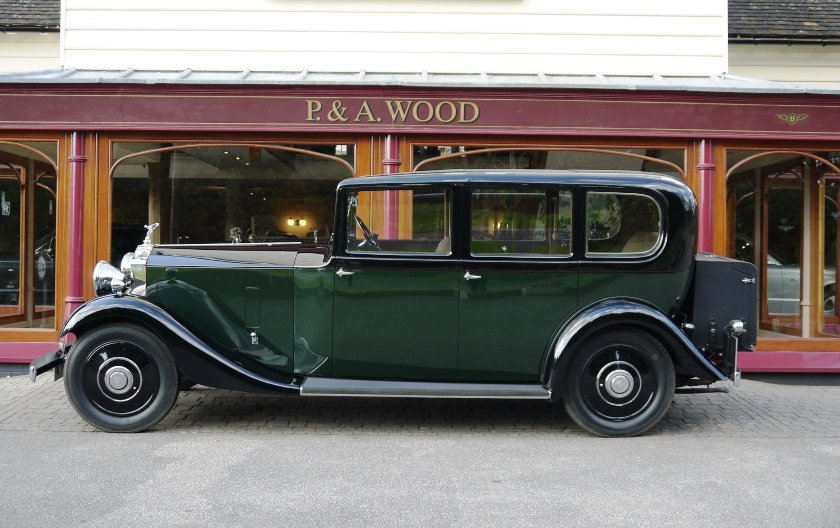 Rolls-Royce 20/25 1933 Limousine by Barker For Sale (picture 2 of 4)