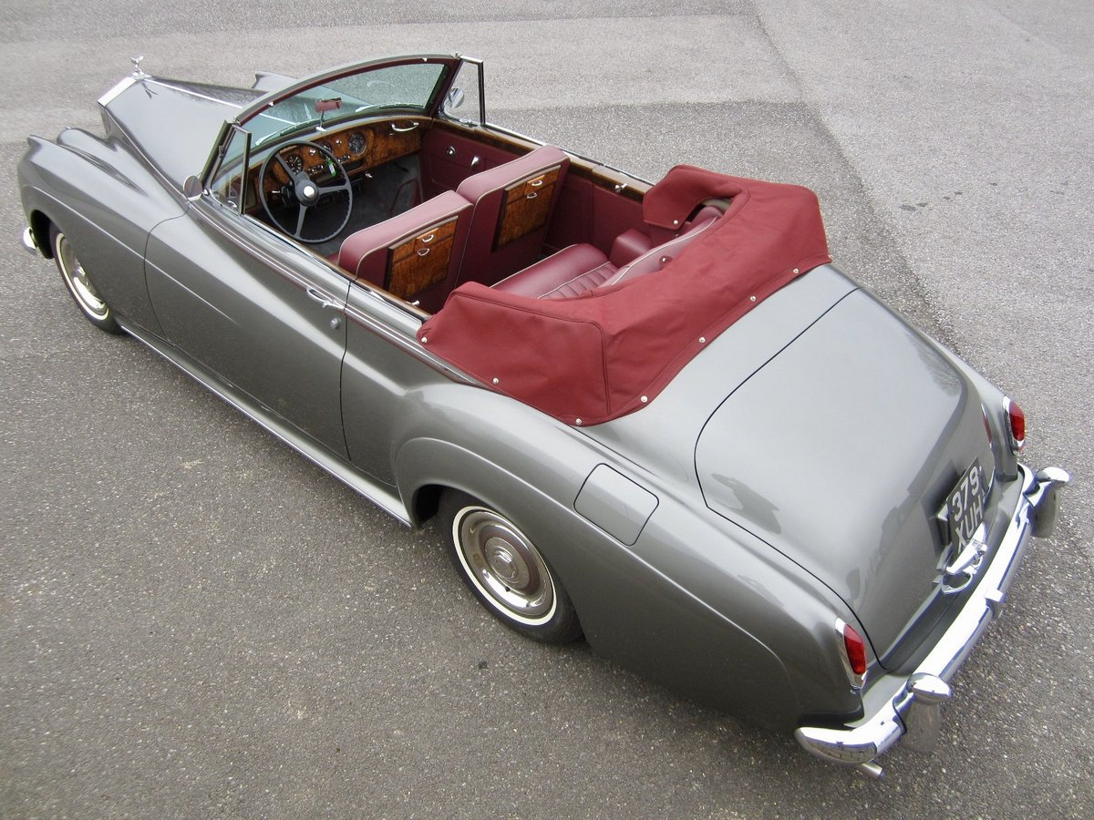 1959 Rolls Royce Silver Cloud I Adaptation (convertible) For Sale (picture 2 of 6)
