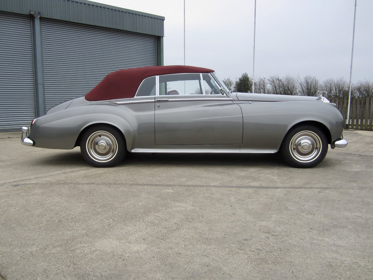 1959 Rolls Royce Silver Cloud I Adaptation (convertible) For Sale (picture 3 of 6)