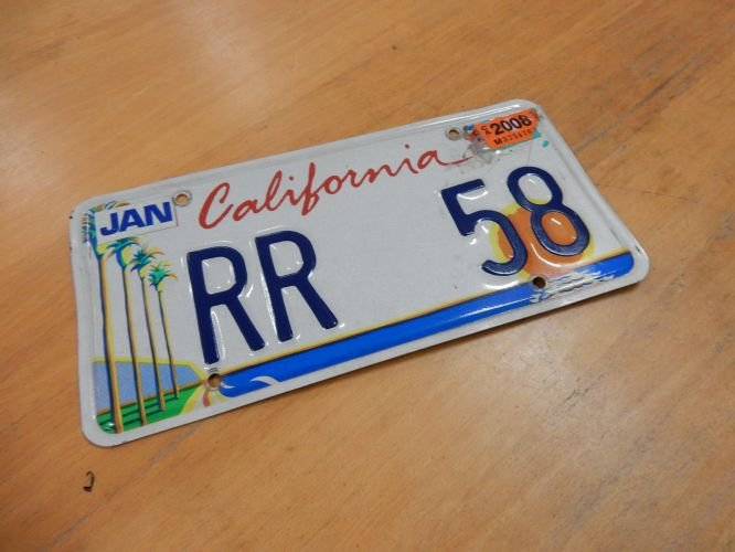 1958 USA number plate For Sale (picture 1 of 1)