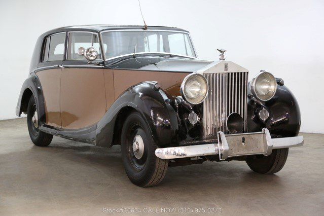 1947 Rolls-Royce Silver Wraith Limousine For Sale (picture 1 of 6)