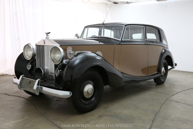1947 Rolls-Royce Silver Wraith Limousine For Sale (picture 3 of 6)