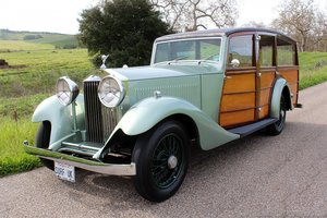 1933 Rolls-Royce 20/25 Shooting Brake = RHD Restored $115k For Sale