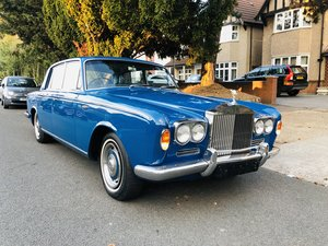 Rolls royce silver shadow 1967 royal blue For Sale