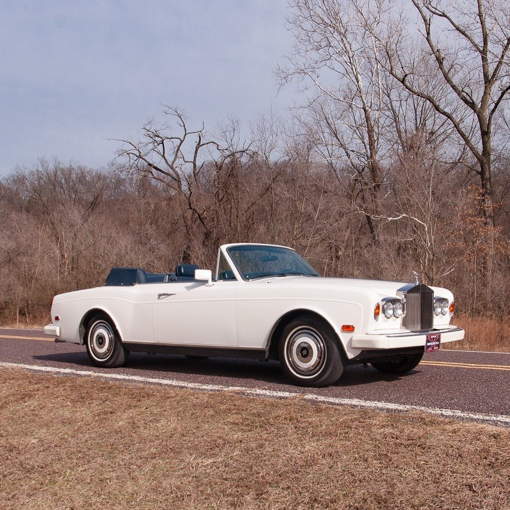 1985 Rolls-Royce Corniche Convertible = Ivory(~)Navy $48.9   For Sale (picture 1 of 4)
