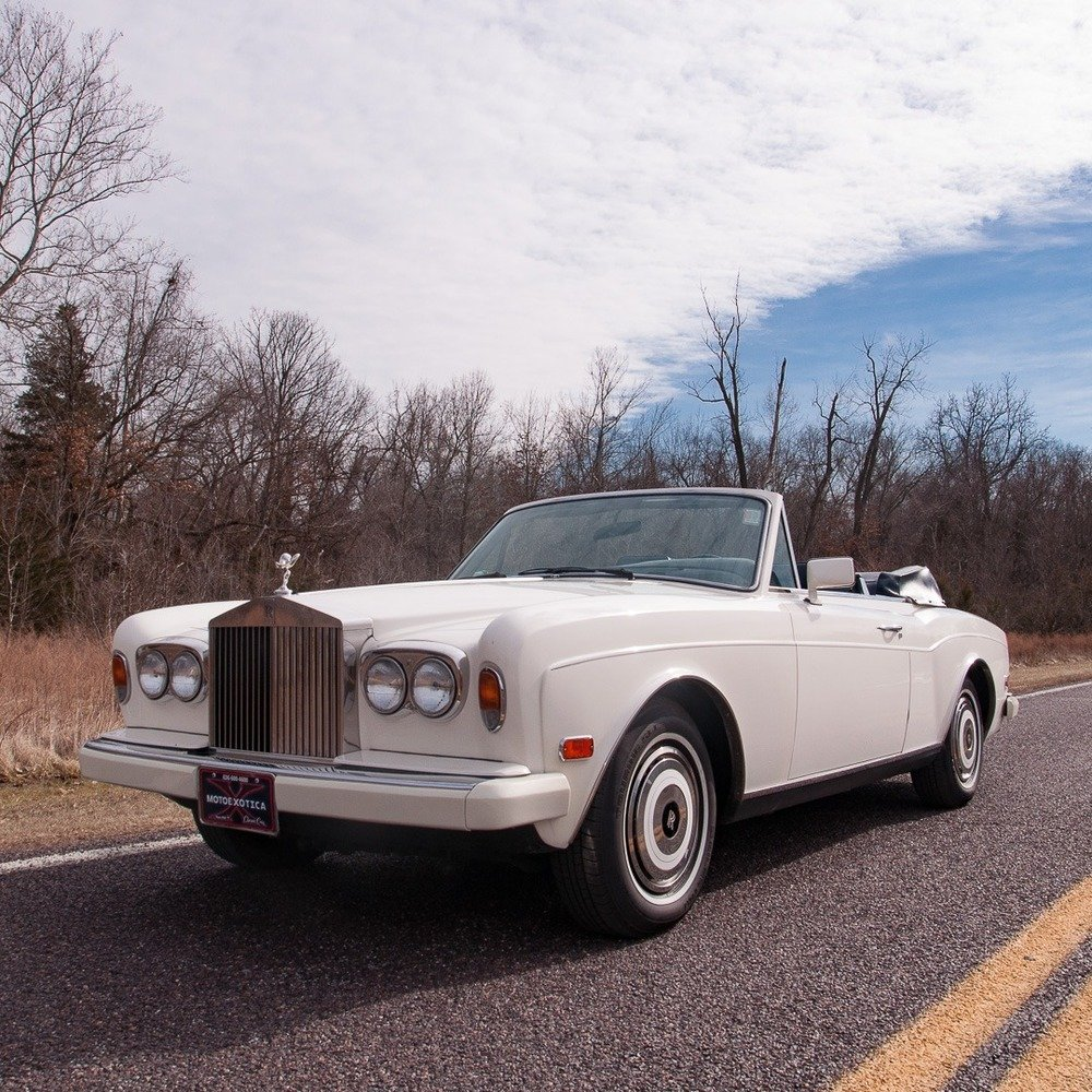 1985 Rolls-Royce Corniche Convertible = Ivory(~)Navy $48.9   For Sale (picture 2 of 4)