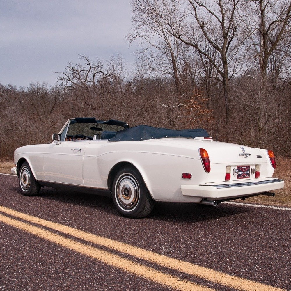 1985 Rolls-Royce Corniche Convertible = Ivory(~)Navy $48.9   For Sale (picture 3 of 4)