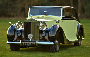 1947 Rolls Royce Silver Wraith Freestone & Webb 2 door Coupe For Sale