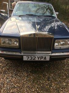 1988 Rolls Royce Silver Spirit Very Low Miles