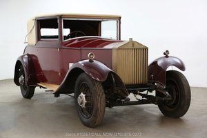 1929 Rolls-Royce 20HP Doctors Coupe For Sale