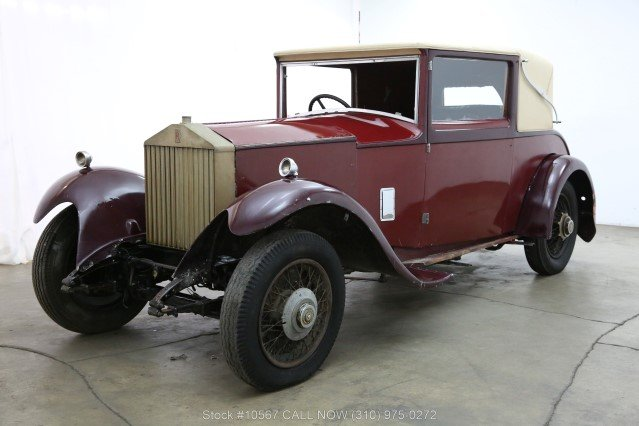 1929 Rolls-Royce 20HP Doctors Coupe For Sale (picture 3 of 6)