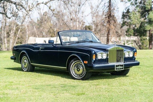 1991 Rolls-Royce Corniche III = Blue(~)Tan 15k miles $95k For Sale (picture 1 of 6)