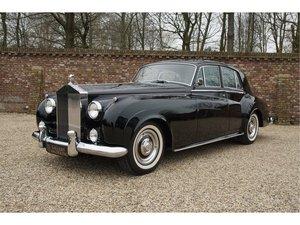 1962 Rolls Royce Silver Cloud II Saloon original LHD, AC, only 15