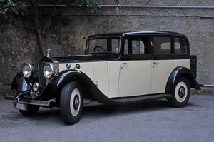 1935 RollsRoyce 20/25 Limousine Six Light by Thrupp&Maberly