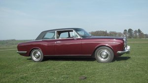 1968 Rolls Royce Corniche 2 door coupe.