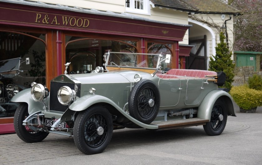 Rolls-Royce Silver Ghost 1924 Dual Cowl Open Tourer For Sale (picture 1 of 4)