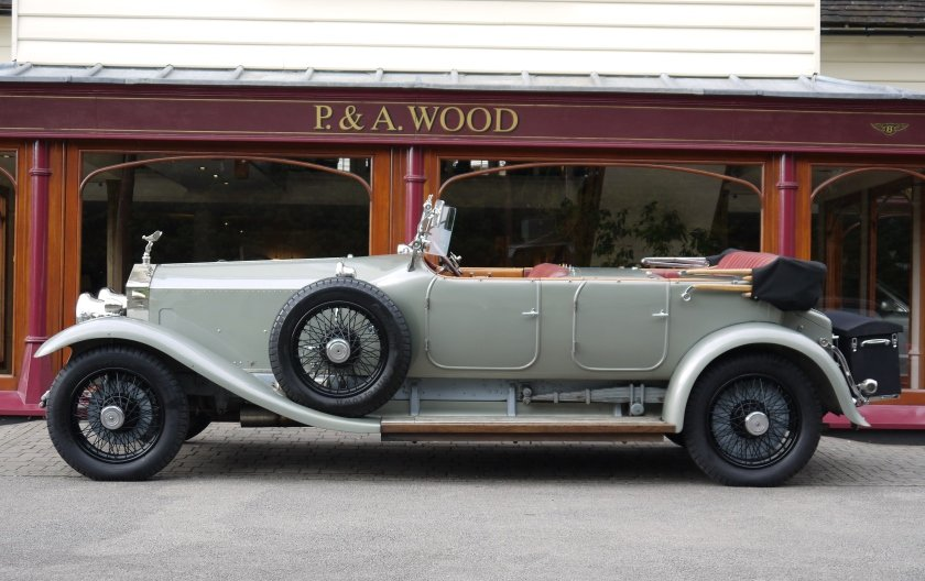 Rolls-Royce Silver Ghost 1924 Dual Cowl Open Tourer For Sale (picture 2 of 4)