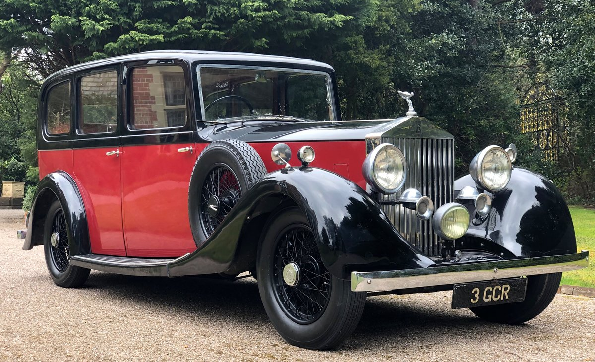 1935 ROLLS ROYCE 20/25  limousine   very low mileage & ownership For Sale (picture 1 of 6)