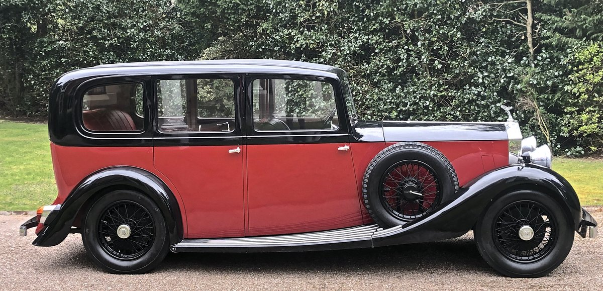 1935 ROLLS ROYCE 20/25  limousine   very low mileage & ownership For Sale (picture 2 of 6)