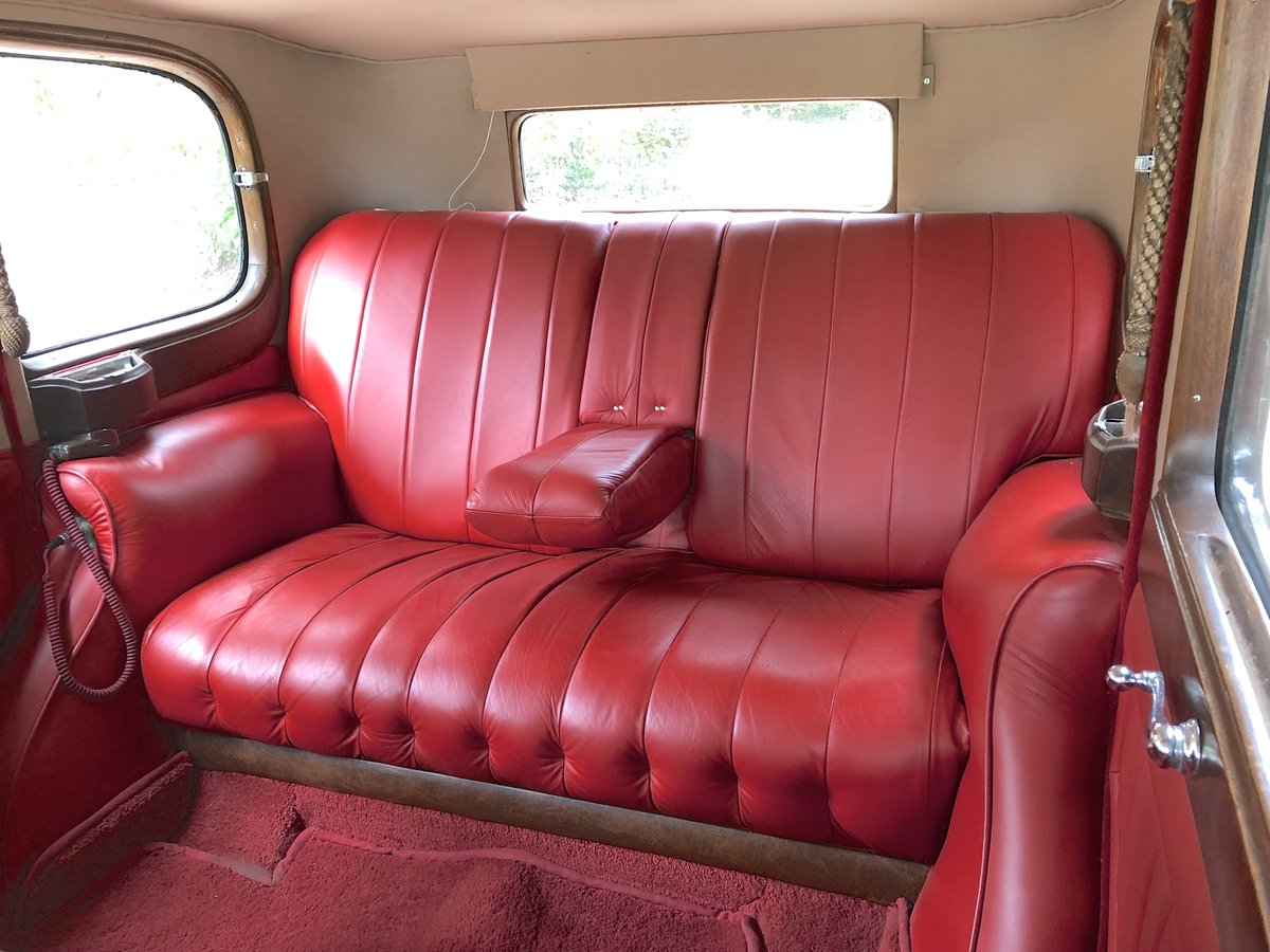 1935 ROLLS ROYCE 20/25  limousine   very low mileage & ownership For Sale (picture 4 of 6)