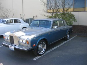 1979 Rolls-Royce Silver Shadow =LHD All Blue 86k miles $26.5