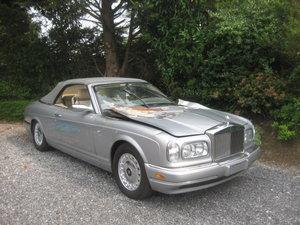Rolls Royce Corniche  Cabriolet Last model 2000, 20000miles!