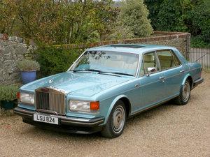 1990 Rolls Royce Silver Spur II Special Order