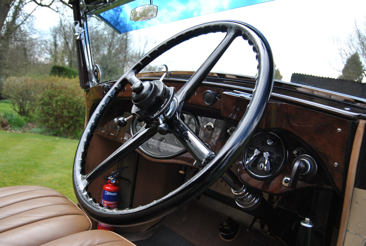 1933 ROLLS-ROYCE 20/25 THREE POSITION DROPHEAD COUPE BY VANDEN PL For Sale (picture 4 of 6)