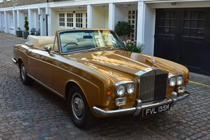 1973 Rolls-Royce Corniche DHC For Sale by Auction
