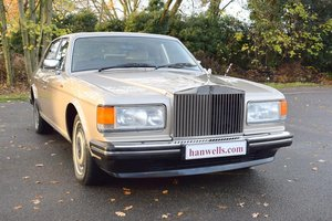 1989 F Rolls Royce Silver Spirit ABS EFI in Silver Sand For Sale