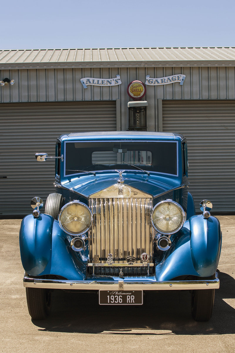 1936 Stunning Sportsman's Saloon by H.J.Mulliner For Sale (picture 1 of 6)