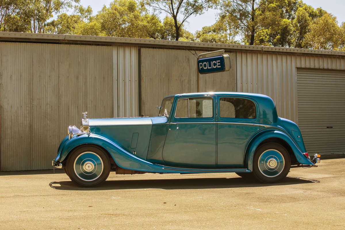 1936 Stunning Sportsman's Saloon by H.J.Mulliner For Sale (picture 2 of 6)