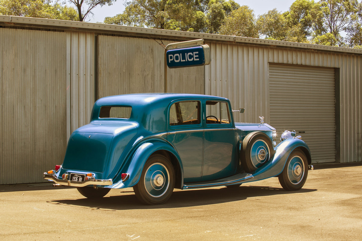 1936 Stunning Sportsman's Saloon by H.J.Mulliner For Sale (picture 4 of 6)