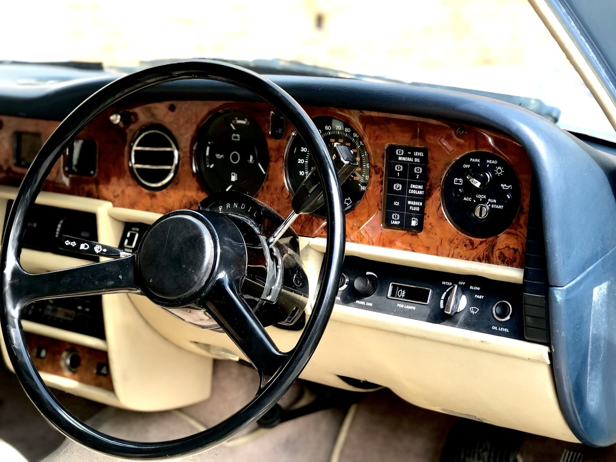 1985 Rolls Royce Silver Spirit 6.8 For Sale (picture 5 of 6)