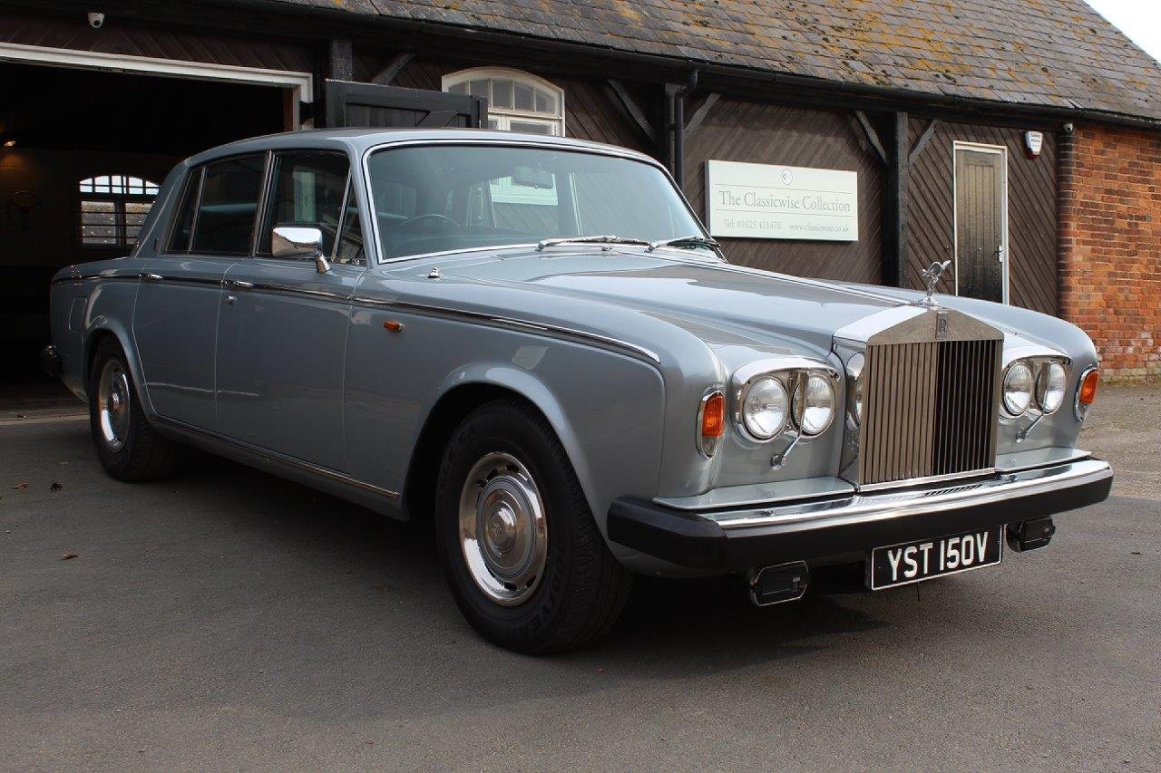1980/V ROLLS ROYCE SILVER SHADOW 2 AUTO SALOON  For Sale (picture 1 of 6)