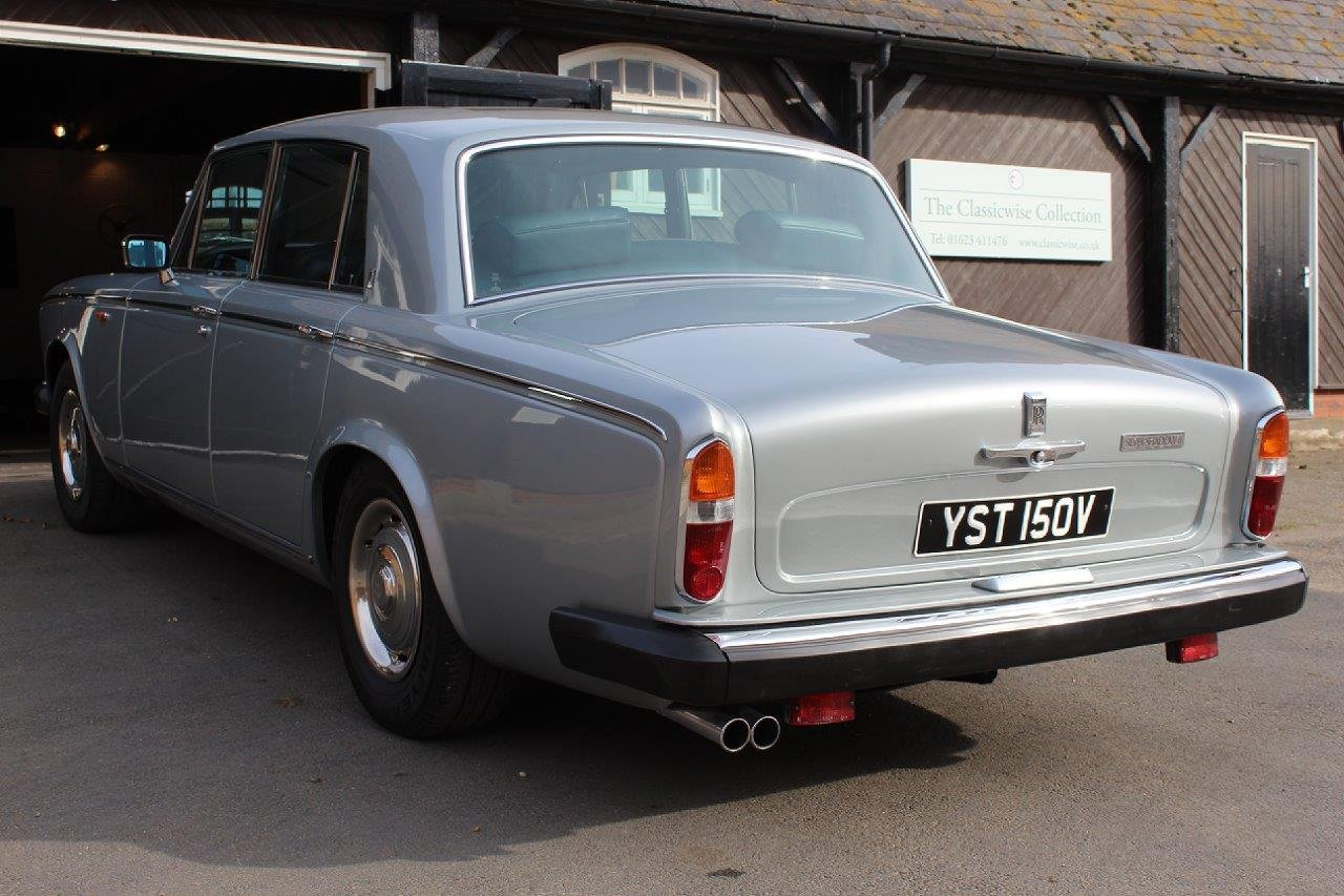 1980/V ROLLS ROYCE SILVER SHADOW 2 AUTO SALOON  For Sale (picture 6 of 6)