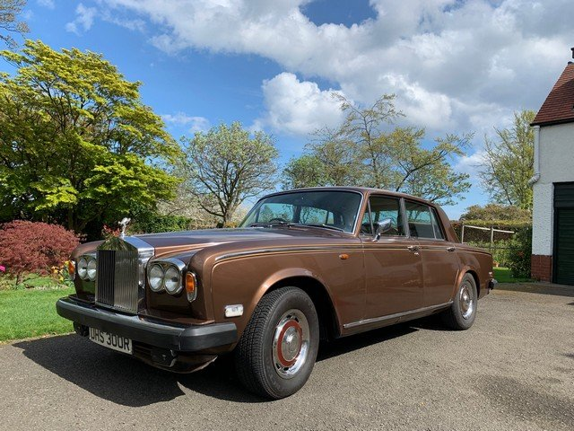 1977 Rolls Royce Silver Shadow II at Morris Leslie 25th May SOLD (picture 1 of 6)