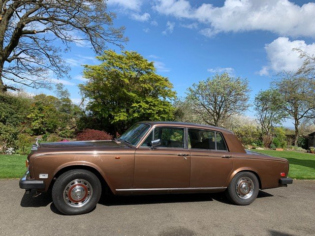1977 Rolls Royce Silver Shadow II at Morris Leslie 25th May SOLD (picture 2 of 6)