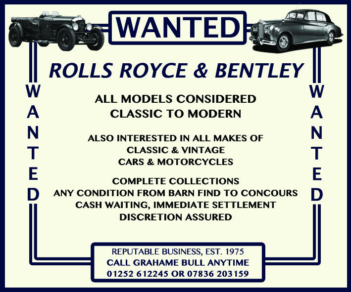 WANTED! ROLLS ROYCE Wanted (picture 1 of 1)