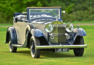 1934 Rolls Royce 20/25 Three position drophead Coupe For Sale