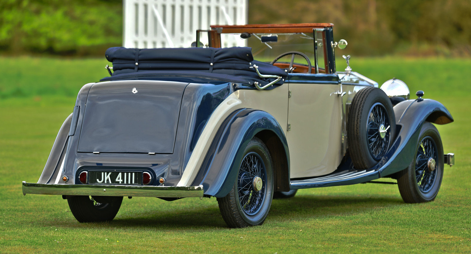 1934 Rolls Royce 20/25 Three position drophead Coupe SOLD (picture 3 of 6)