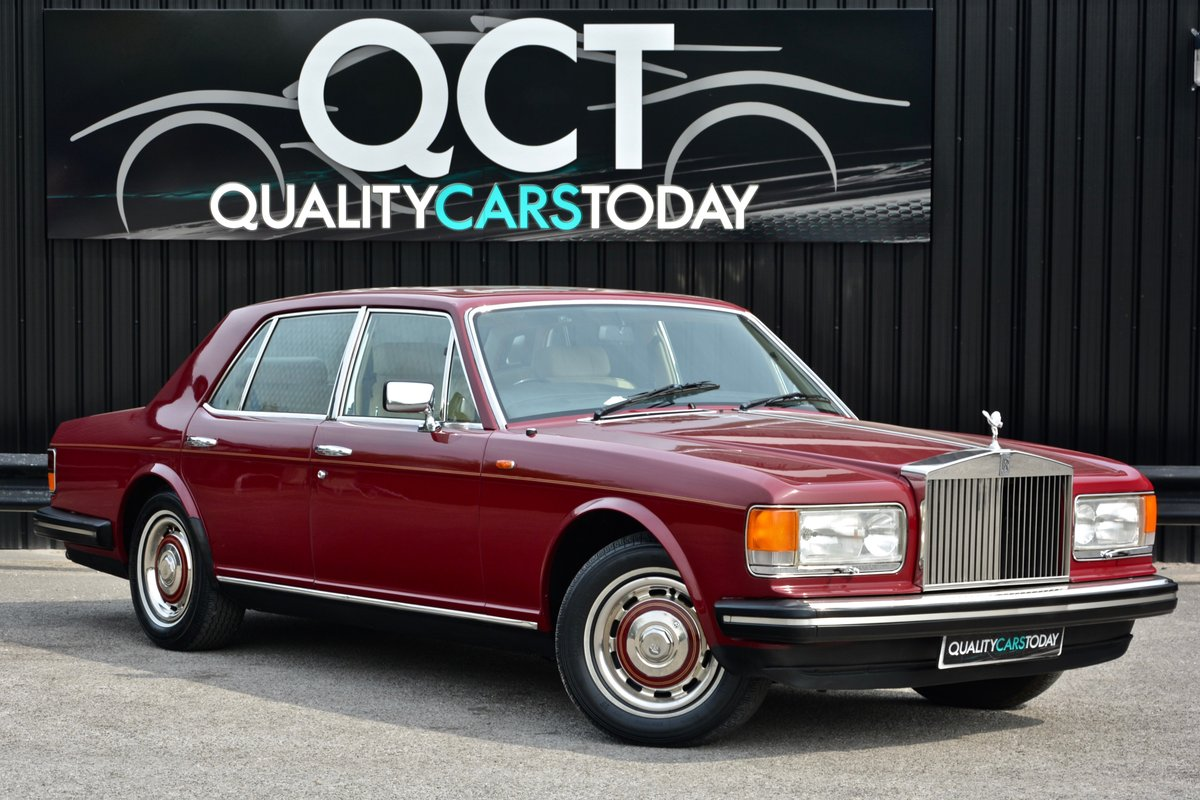 1981 Rolls Royce Silver Spirit *73k Miles + Claret Paint* For Sale (picture 1 of 6)