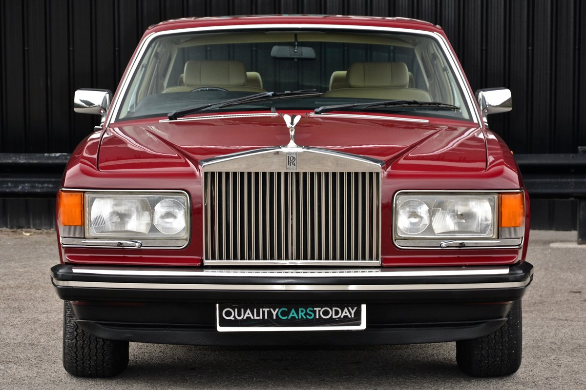 1981 Rolls Royce Silver Spirit *73k Miles + Claret Paint* For Sale (picture 3 of 6)