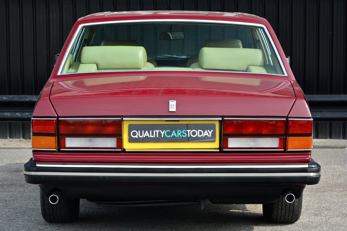 1981 Rolls Royce Silver Spirit *73k Miles + Claret Paint* For Sale (picture 4 of 6)