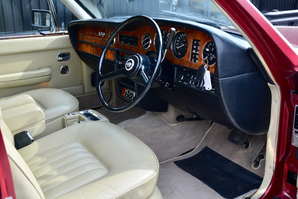 1981 Rolls Royce Silver Spirit *73k Miles + Claret Paint* For Sale (picture 6 of 6)