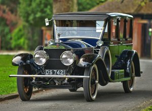 1921 Rolls Royce Silver Ghost Pickwick Limousine RHD For Sale