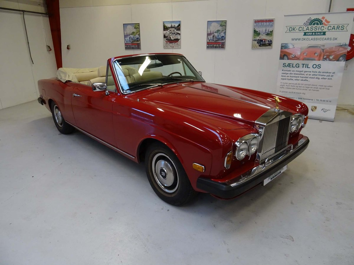 1969 Rolls-Royce Silver Shadow Cabriolet Drophead Coupe For Sale (picture 1 of 6)